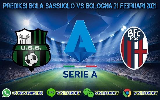 Prediksi Skor Sassuolo Vs Bologna 21 Februari 2021