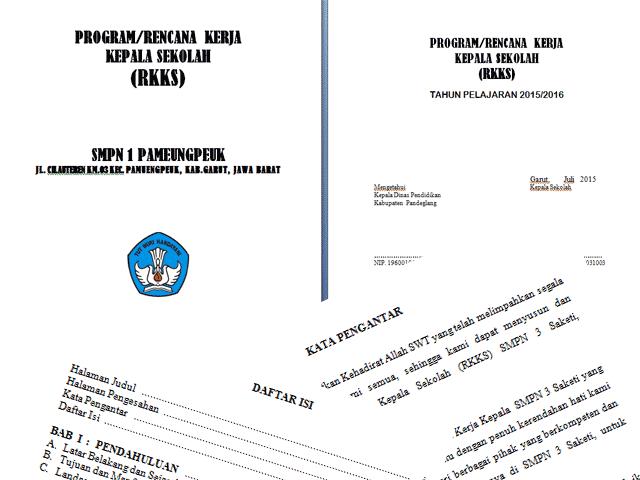 Download Contoh Format Program Rencana Kerja Kepala Sekolah ( RKKS )