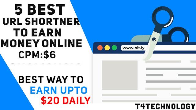 5 Best and Trusted URL Shortner website to Earn Money