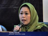 Viral !! Putri Gus Dur Bilang Warga NU Tak Harus Memilih Ma'ruf Amin