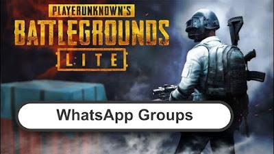 PUBG Lite WhatsApp Group Links