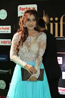 Telugu Actress Angela Krislinzki in transparent top at IIFA Awards 2017 Exclusive 20.JPG