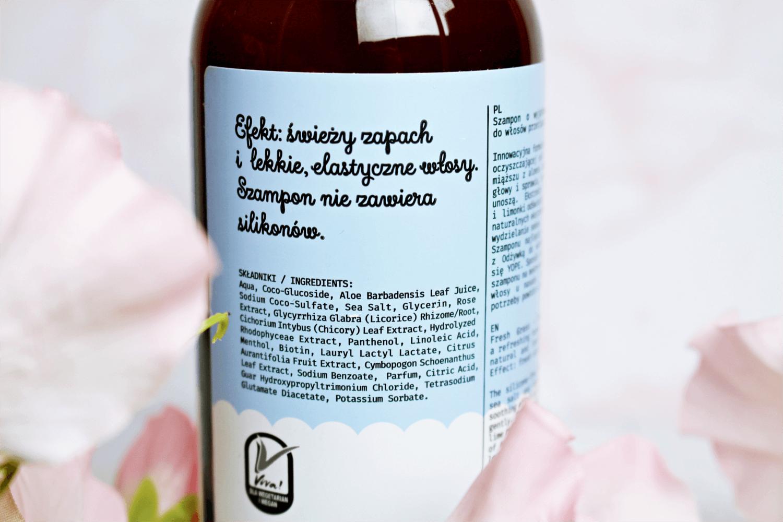 Yope naturalny szampon do włosów świeża trawa