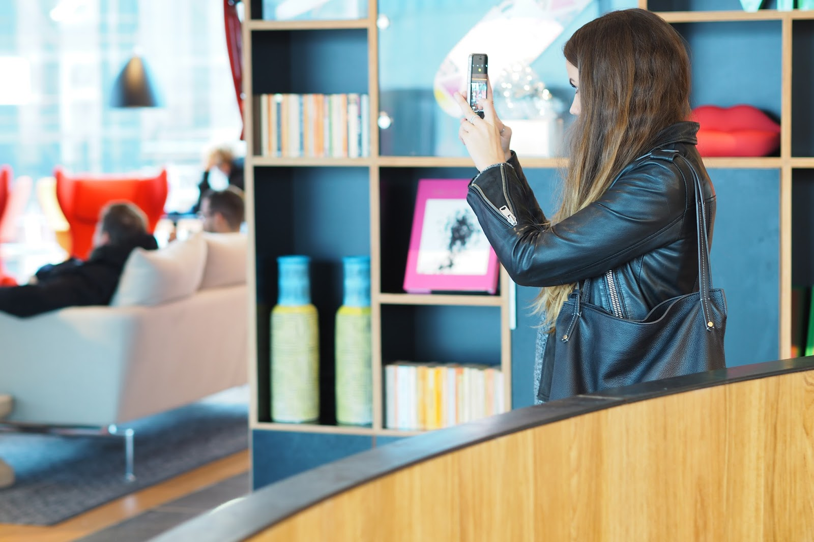 citizenm shoreditch living room