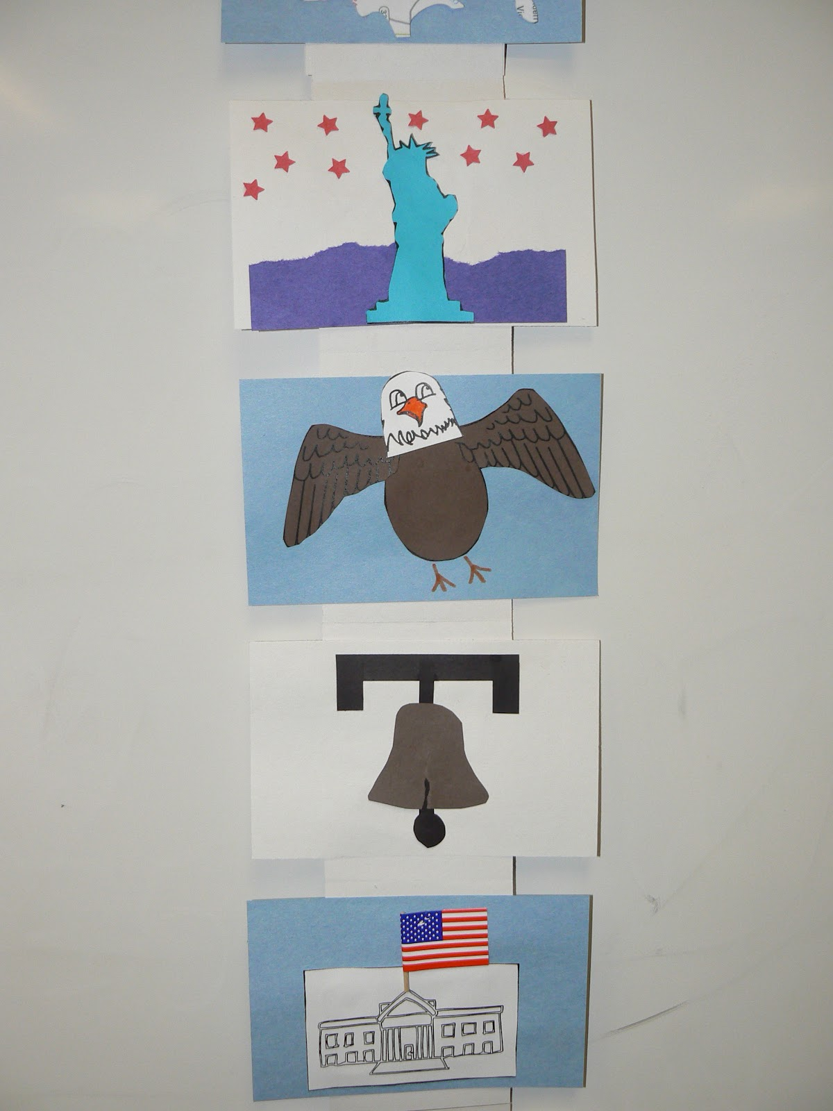 Mrs T S First Grade Class American Symbols Book