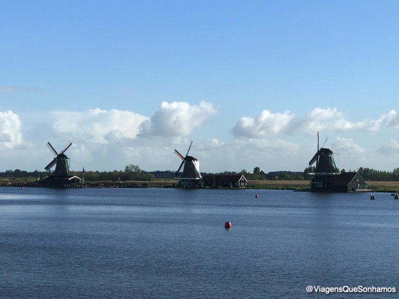 Moinhos na Holanda