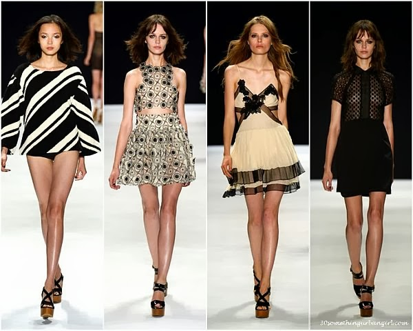 JillStuart S/S2014 runway dresses