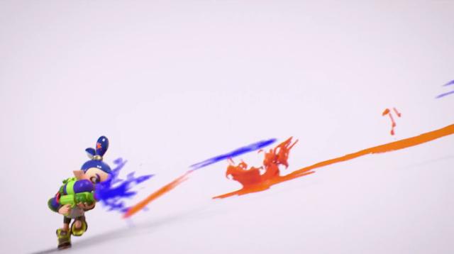 Super Smash Bros. for Nintendo Switch Inklings trailer