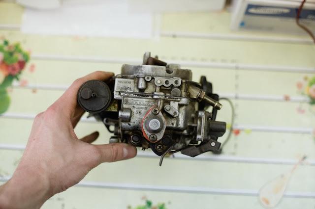 Как отремонтировать карбюратор (Pierburg) пибург на форд сиерре.