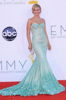 modelo de vestido sereia azul - dicas e fotos