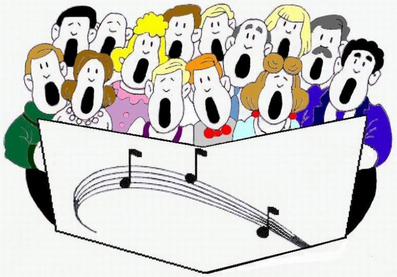 clip art church choir singing - photo #7