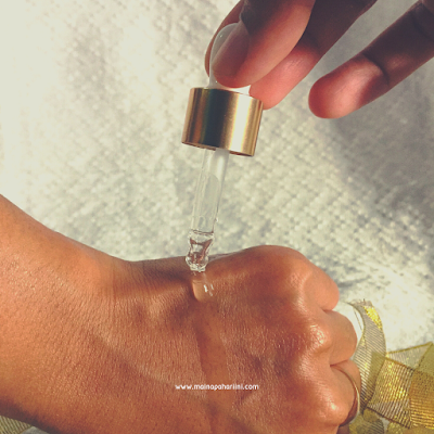 review serum pencerah wajah eBright Skin