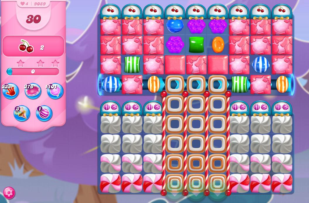 Candy Crush Saga level 9089