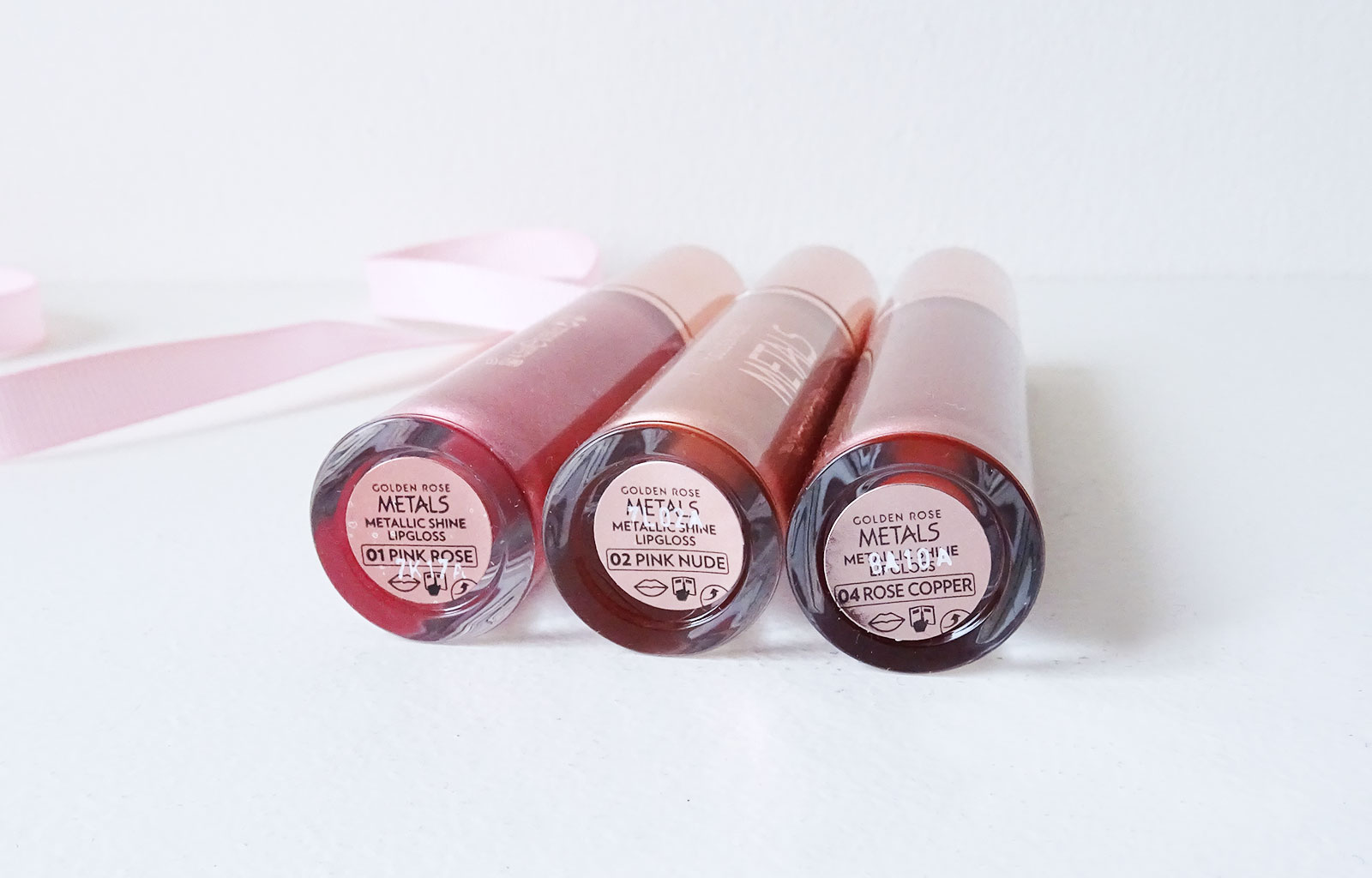 Metals Metallic Shine Lip gloss Golden Rose