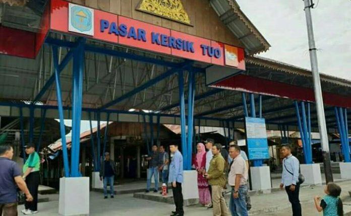 Pemkab Kerinci Akan Dilanjutkan Perbaikan 2 Pasar Tradisional