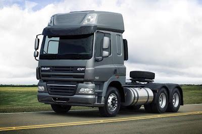 DAF Caminhões Brasil participa da 20ª TranspoSul com XF105 Green Metallic e CF85 Iron Gray