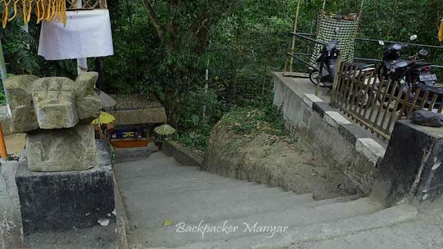 Loket masuk Air Terjun Kanto Lampo Bali
