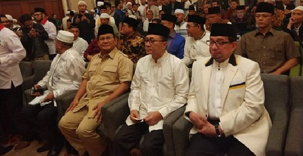 Lima Pimpinan Parpol Hadiri Ijtima GNPF untuk Usung Capres 2019