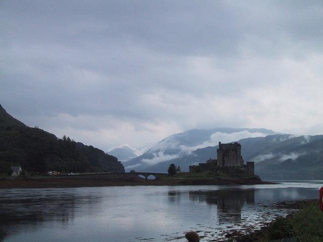 Castillo en ruinas en Escocia