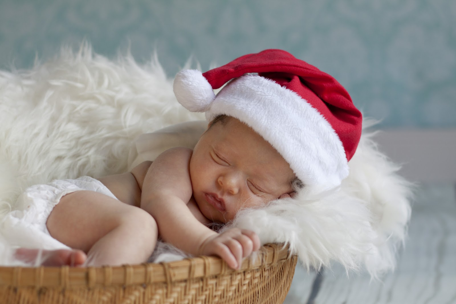 Cute Pictures of Baby Santa Claus ~ Violet Fashion Art