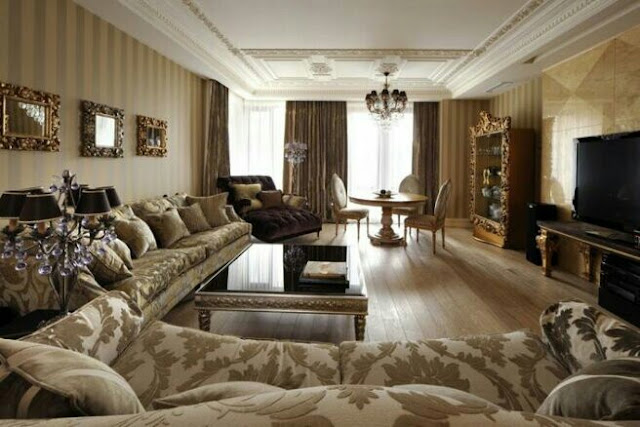 Living room in classic style