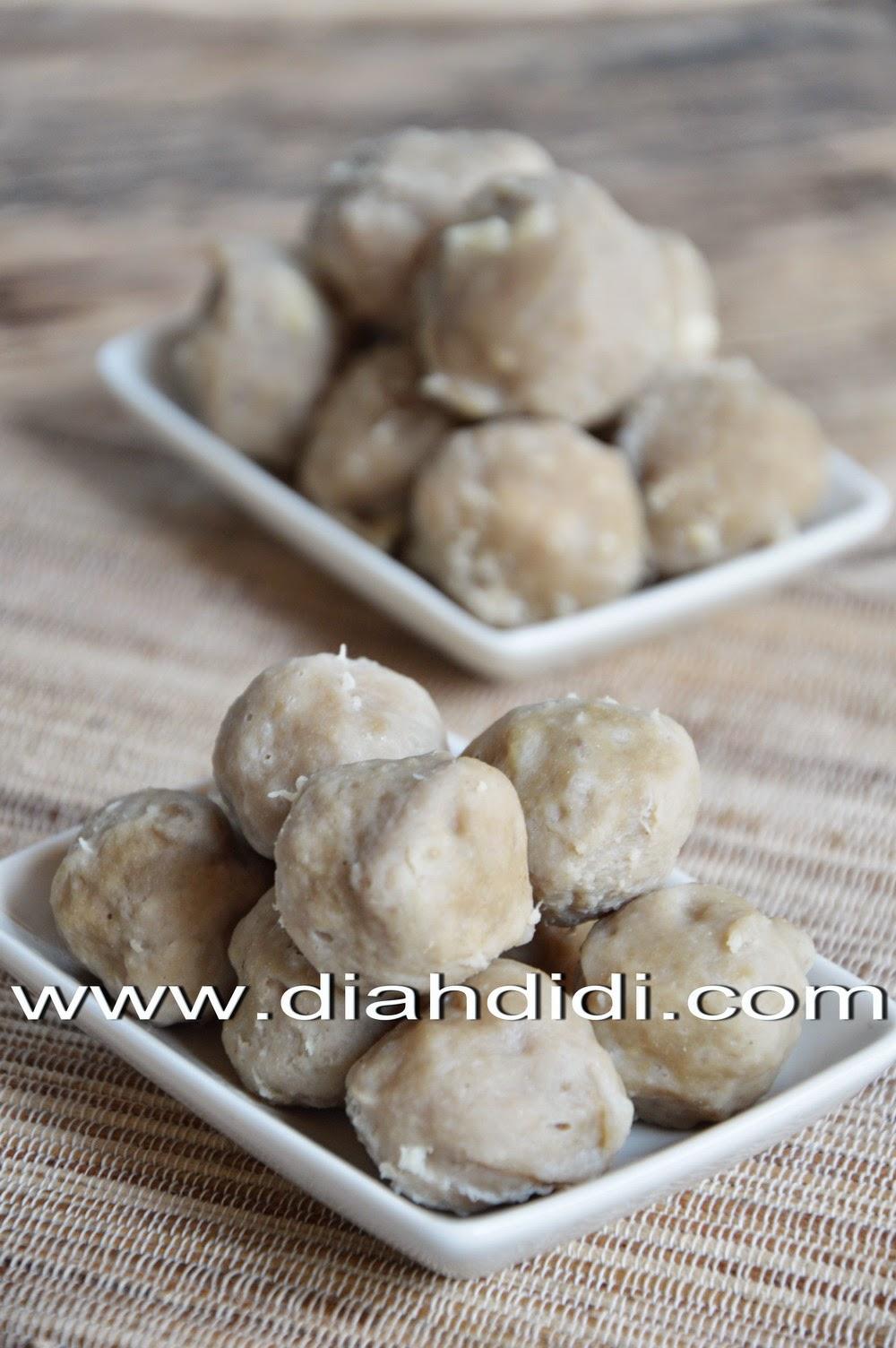Resep Bakso Daging Sapi : resep, bakso, daging, Didi's, Kitchen:, Membuat, Bakso, Daging