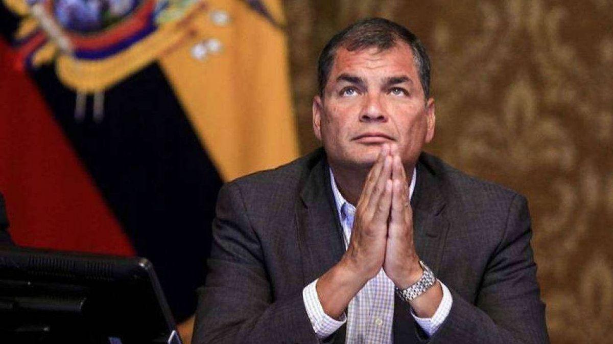 CNE de Ecuador no reconoce que Correa aceptó ser candidato a la vicepresidencia