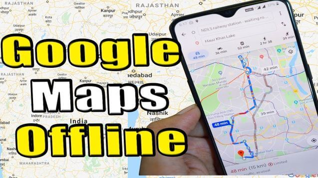 كيفية, تنزيل, خريطة, جوجل, أوف, لاين, للاستخدام, في, وضع, عدم, الاتصال