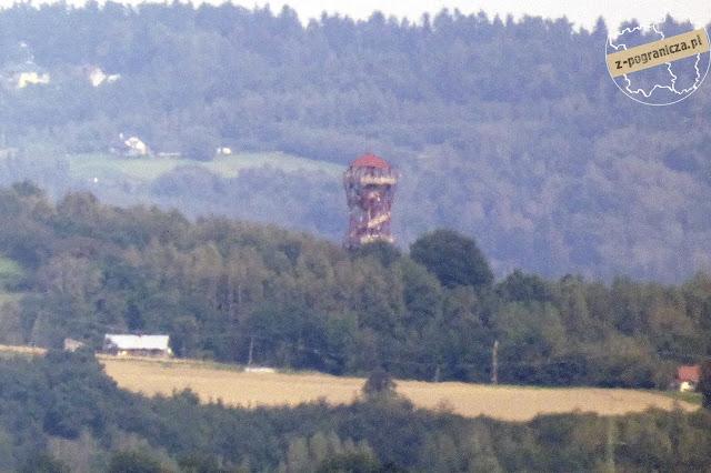 wieża widokowa Karpacka Troja