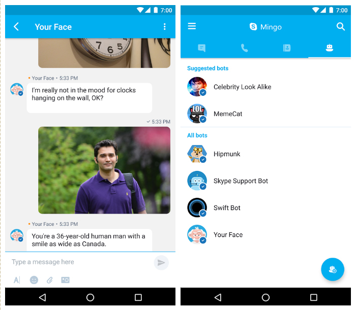 Nuovo Skype Mingo per Android: tutto incluso | Download HTNovo