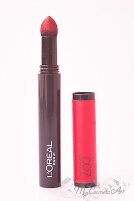 Infalible Mate Max de L'Oreal: lápices de labios mate en polvo.