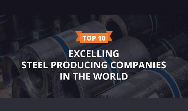 The best steel-producing companies in the world