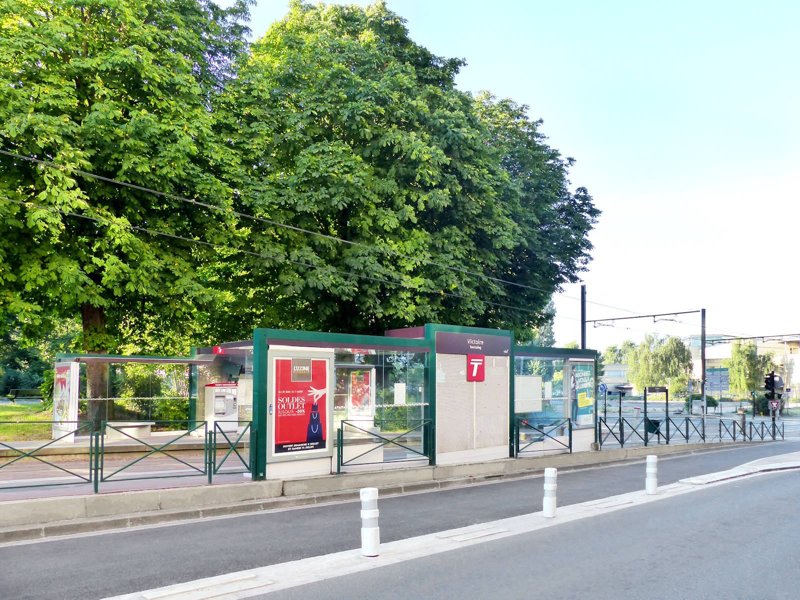 Arrêt Tramway Victoire Jaggi