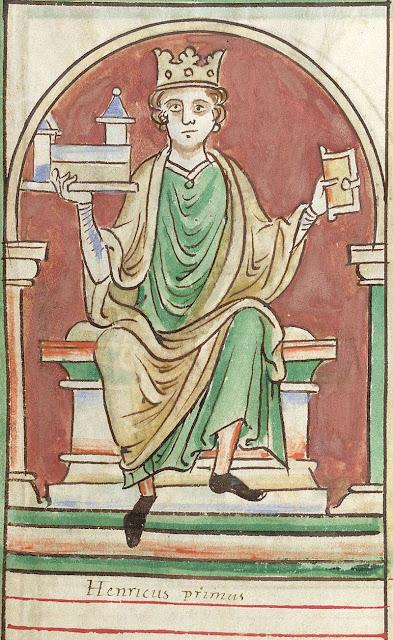 Rei Henrique I da Inglaterra - Crônicas de Matthew Paris - 1236-1259 - eclipse
