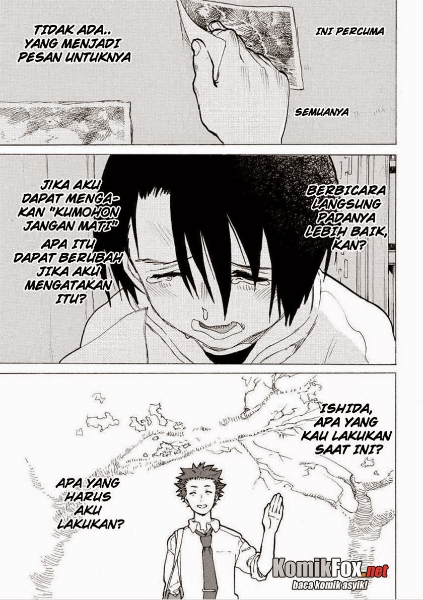 Koe no Katachi Chapter 45-13