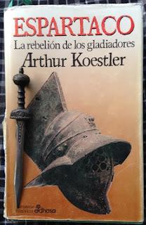 Portada del libro Espartaco, de Arthur Koestler