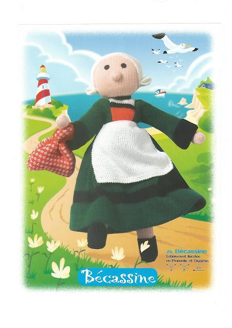 Bécassine au tricot