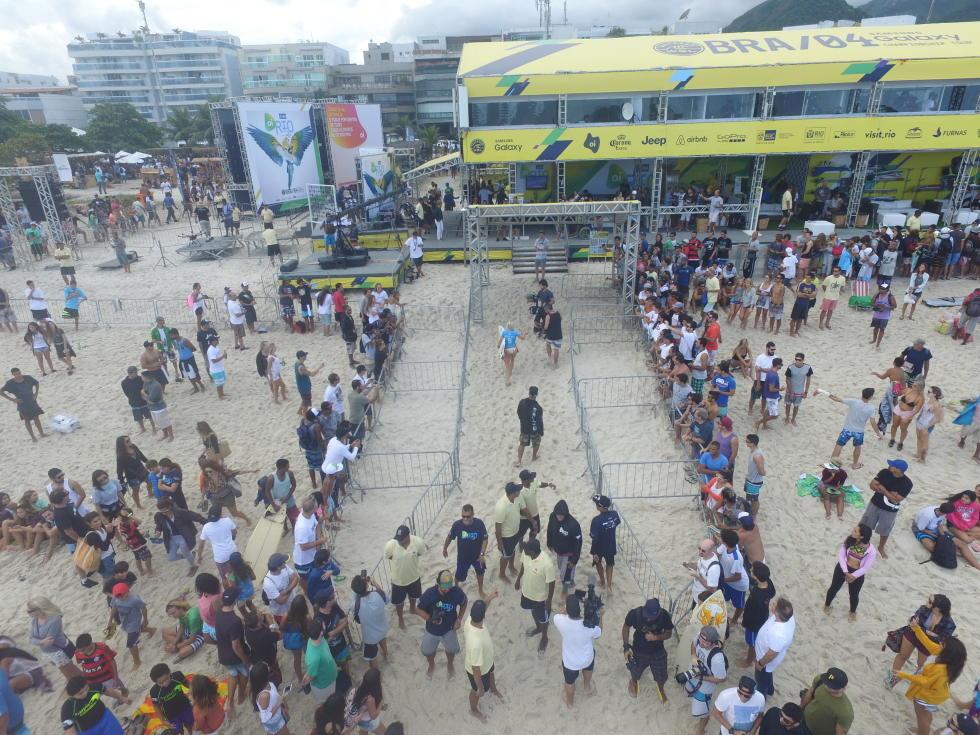 0 Postinho event site 2016 Oi Rio Pro fotos WSL Daniel Smorigo