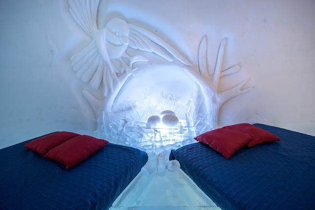 The unique icy hotels in the world