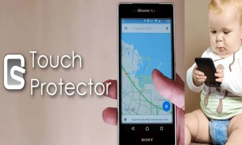 Touch Protector (to prevent unintended operations)