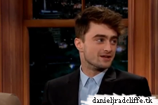 Daniel Radcliffe on The Late Late Show with Craig Ferguson