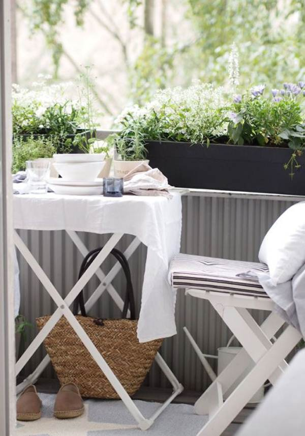 7 Ideas For Decorating Balconies or Terraces 6