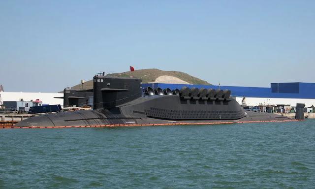 Kapal selam bertenaga nuklir milik China, Tipe-094 kelas Jin.