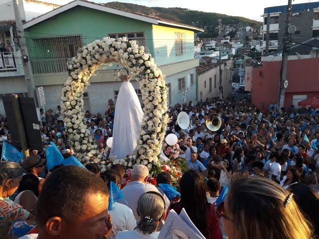 Polícia Militar garante a paz pública durante homenagem à padroeira de Jacobina