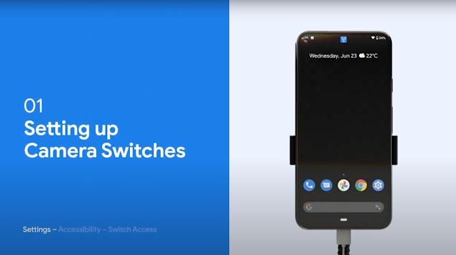 O vídeo tutorial mostra maneiras de usar e personalizar os interruptores de câmera de acordo com suas necessidades específicas.