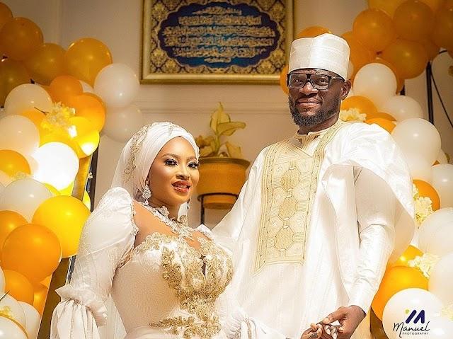 PHOTOS: Ghanaian Goalkeeper Abdul Fatawu Dauda Marries