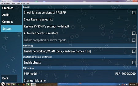 Cara Mengatasi PPSSPP Force Close For Windows