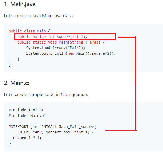native Java Keyword with Examples