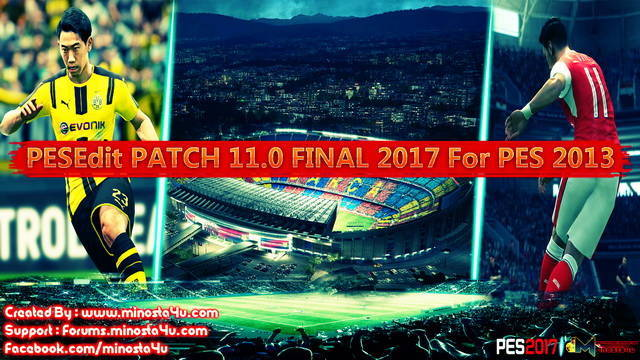 PES 2013 Pesedit 11.0 Patch 2016-2017
