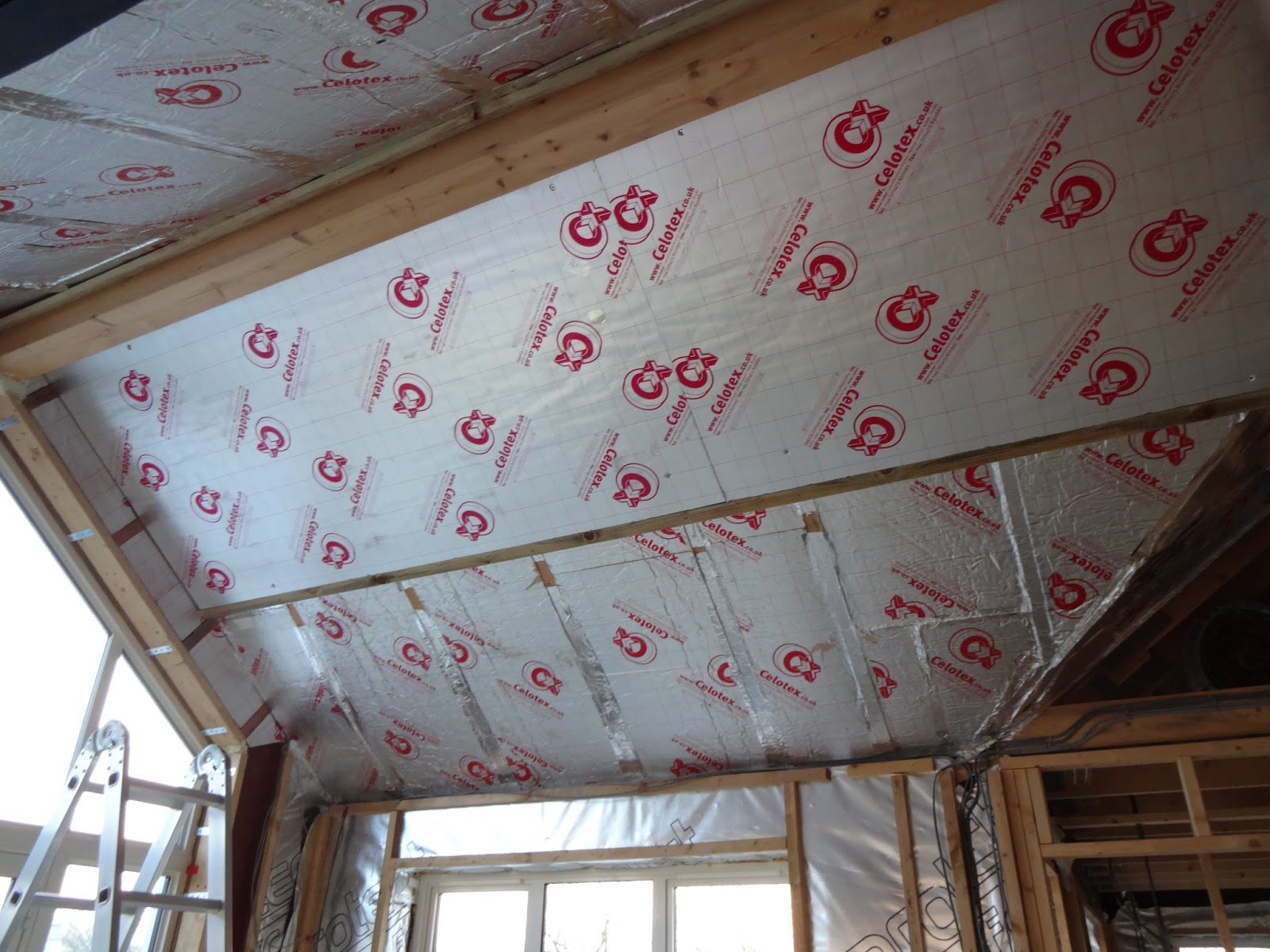 Alan Planned The Insulation Requirements Of Vaulted Ceiling So That It Would Match In